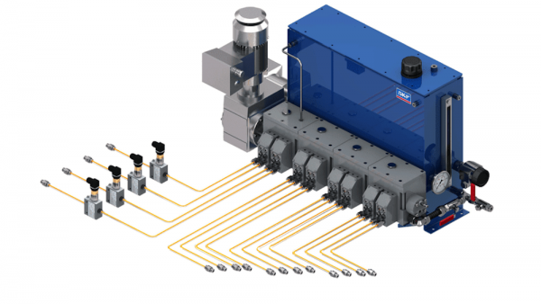 Multi-line lubrication systems
